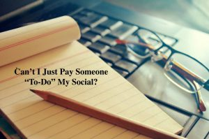 Can't I pay someone to do Social Media?